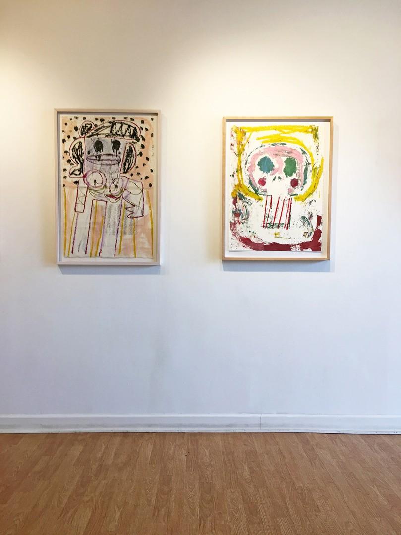 Madelyn Jordon Fine Art ADAM HANDLER: BETWEEN NIGHTMARES AND FAIRY TALES Install 9