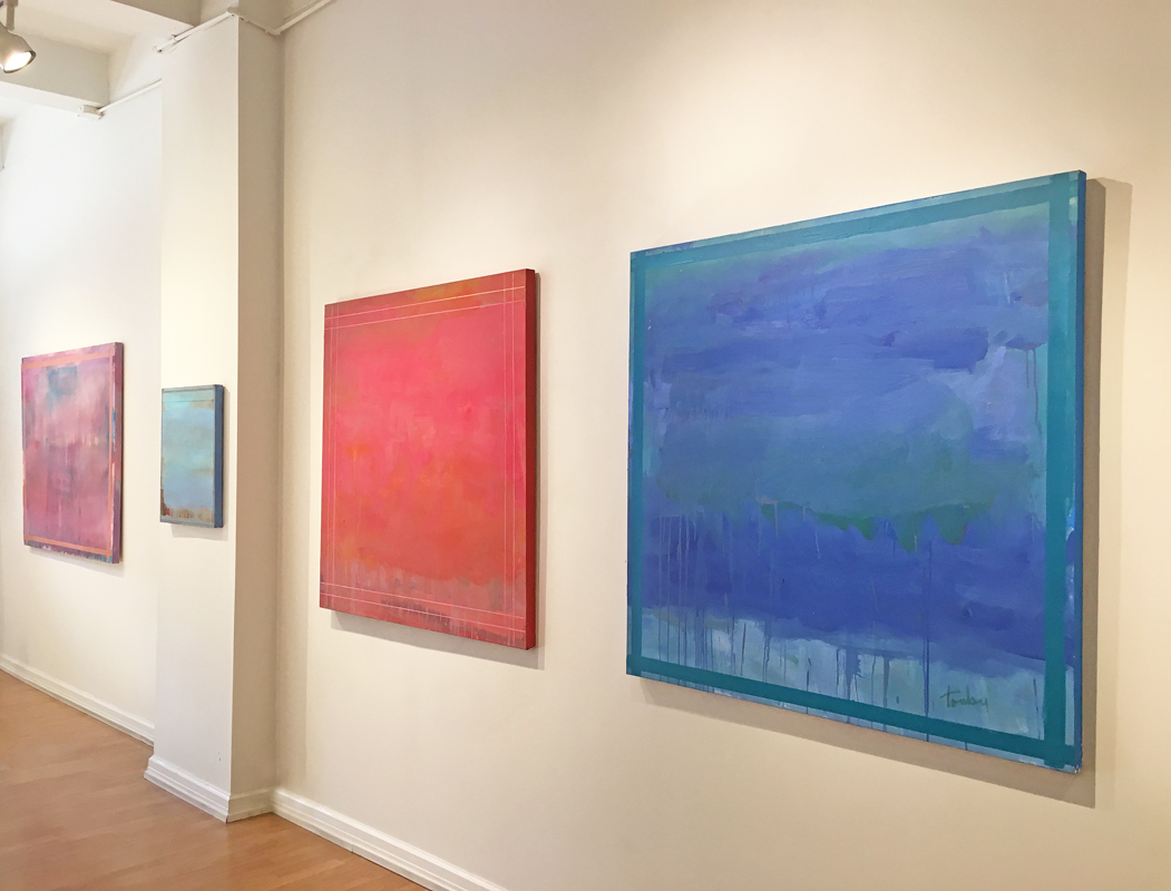 Madelyn Jordon Fine Art LINDA TOUBY: JE T'AIME Install 4