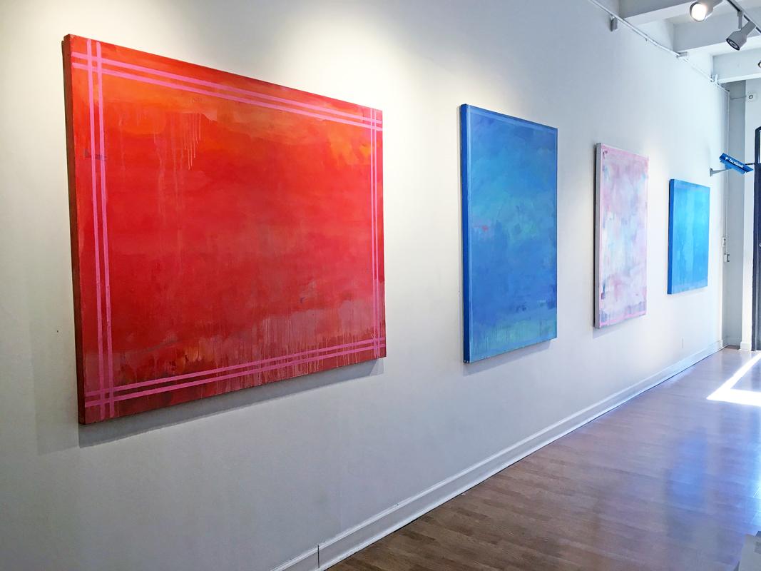 Madelyn Jordon Fine Art LINDA TOUBY: JE T'AIME Install 7