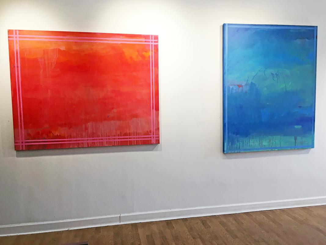 Madelyn Jordon Fine Art LINDA TOUBY: JE T'AIME Install 8