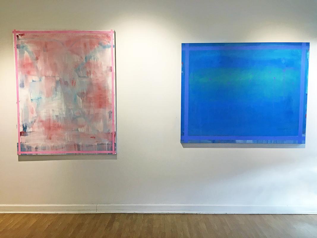 Madelyn Jordon Fine Art LINDA TOUBY: JE T'AIME Install 9