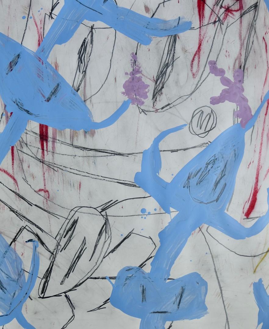 Madelyn Jordon Fine Art ADAM HANDLER: BETWEEN NIGHTMARES AND FAIRY TALES Baby Blue Dreams