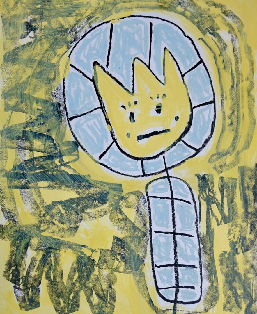 Madelyn Jordon Fine Art ADAM HANDLER: BETWEEN NIGHTMARES AND FAIRY TALES Little Tulip Friend