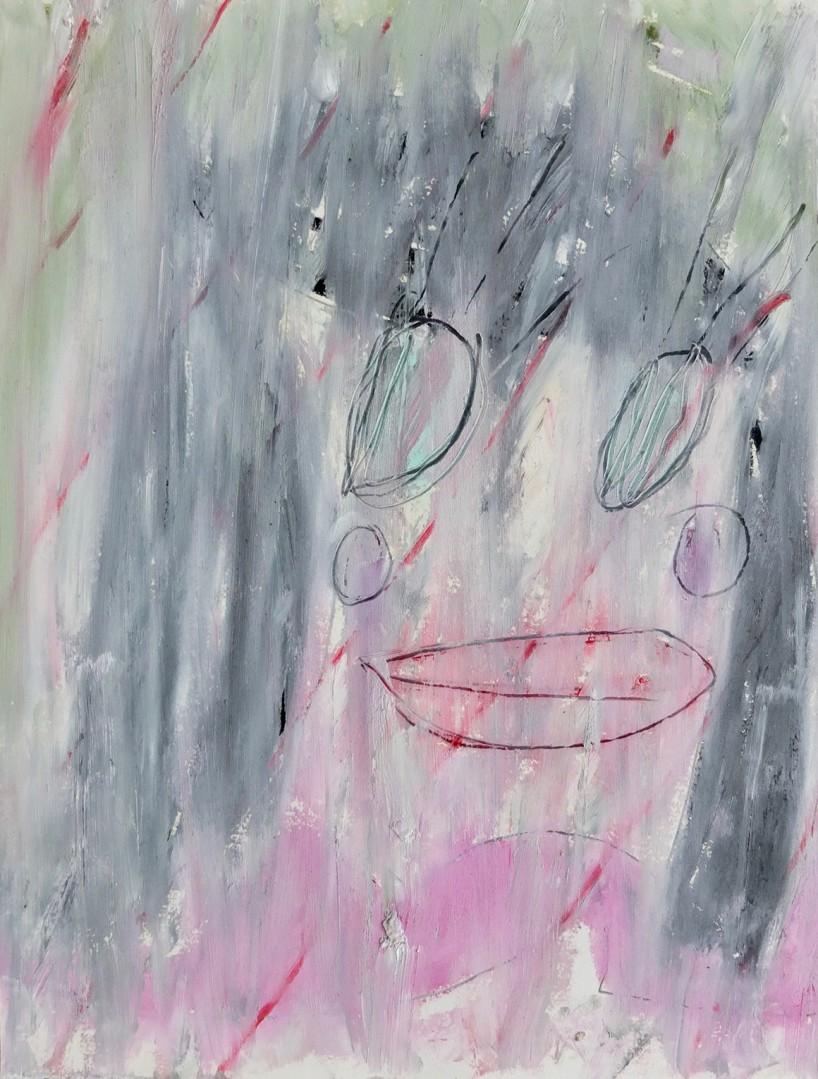 Madelyn Jordon Fine Art ADAM HANDLER: BETWEEN NIGHTMARES AND FAIRY TALES Pale Spring Face