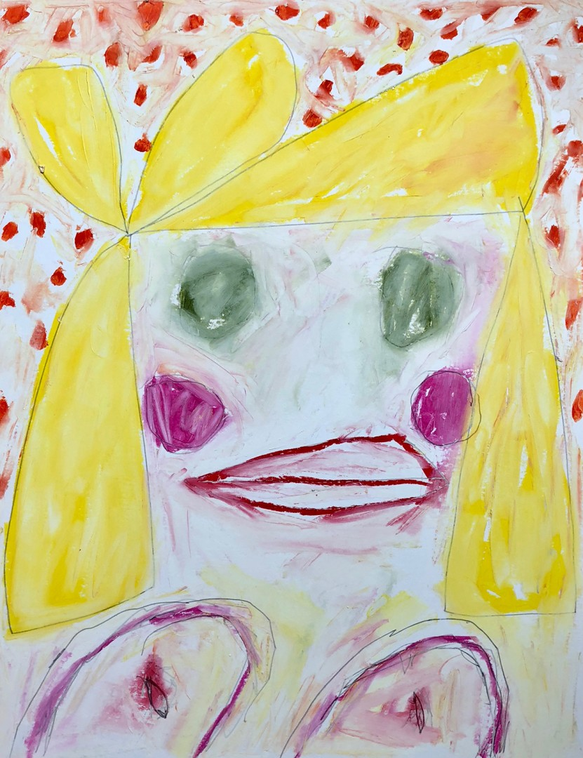 Madelyn Jordon Fine Art ADAM HANDLER: BETWEEN NIGHTMARES AND FAIRY TALES Sweet Face