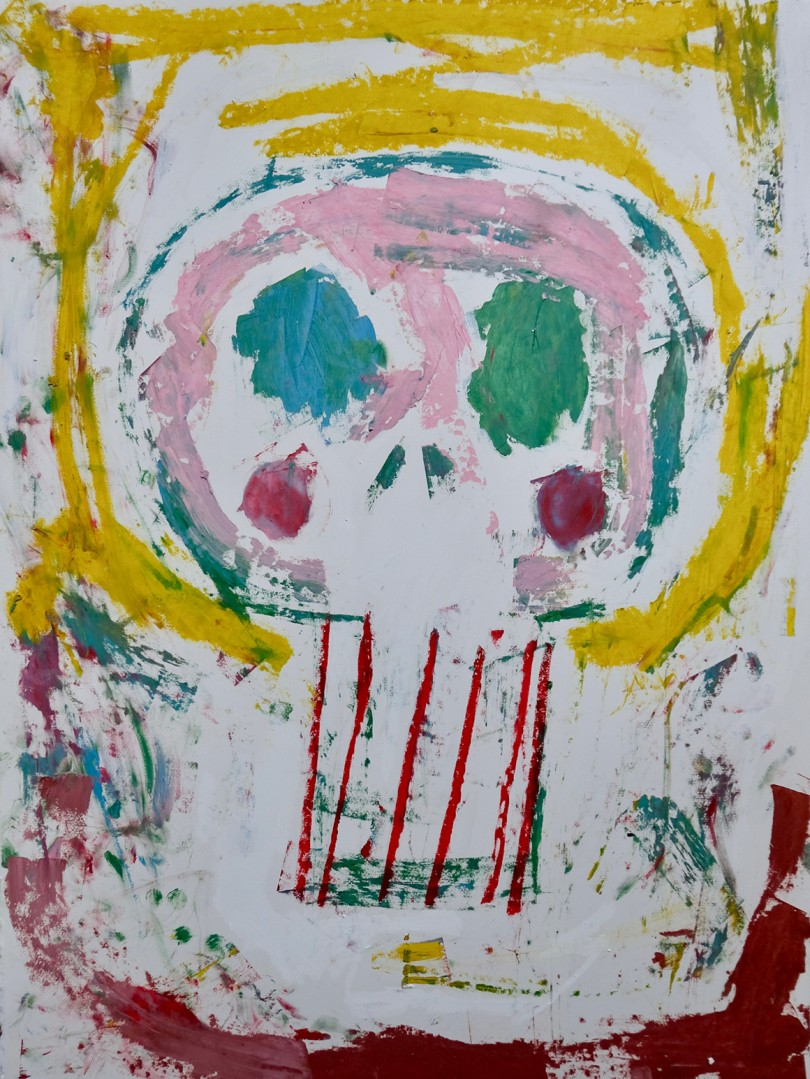 Madelyn Jordon Fine Art ADAM HANDLER: BETWEEN NIGHTMARES AND FAIRY TALES Tribe Skull