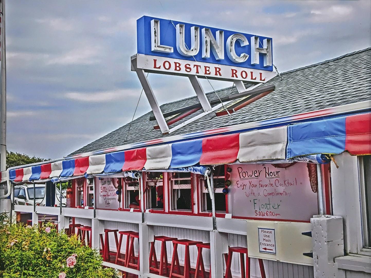 Madelyn Jordon Fine Art DJ Leon Lunch