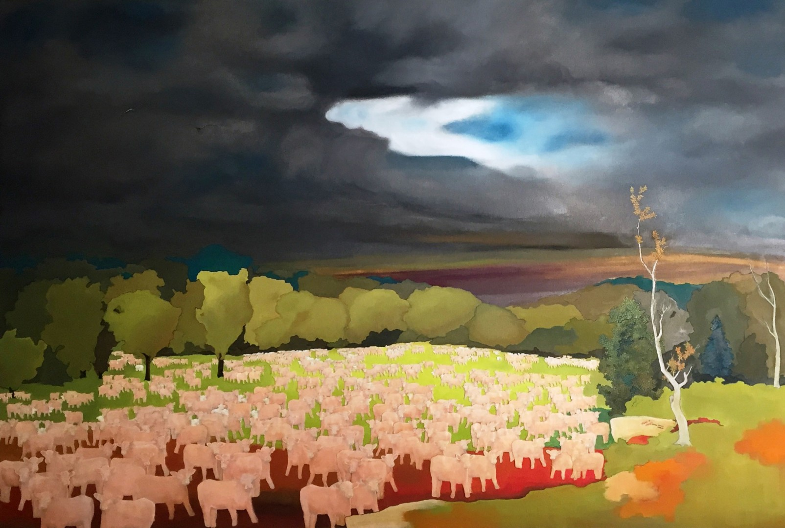 Madelyn Jordon Fine Art STAGING NATURE: A WORLD UNTO ITSELF The Coming Storm