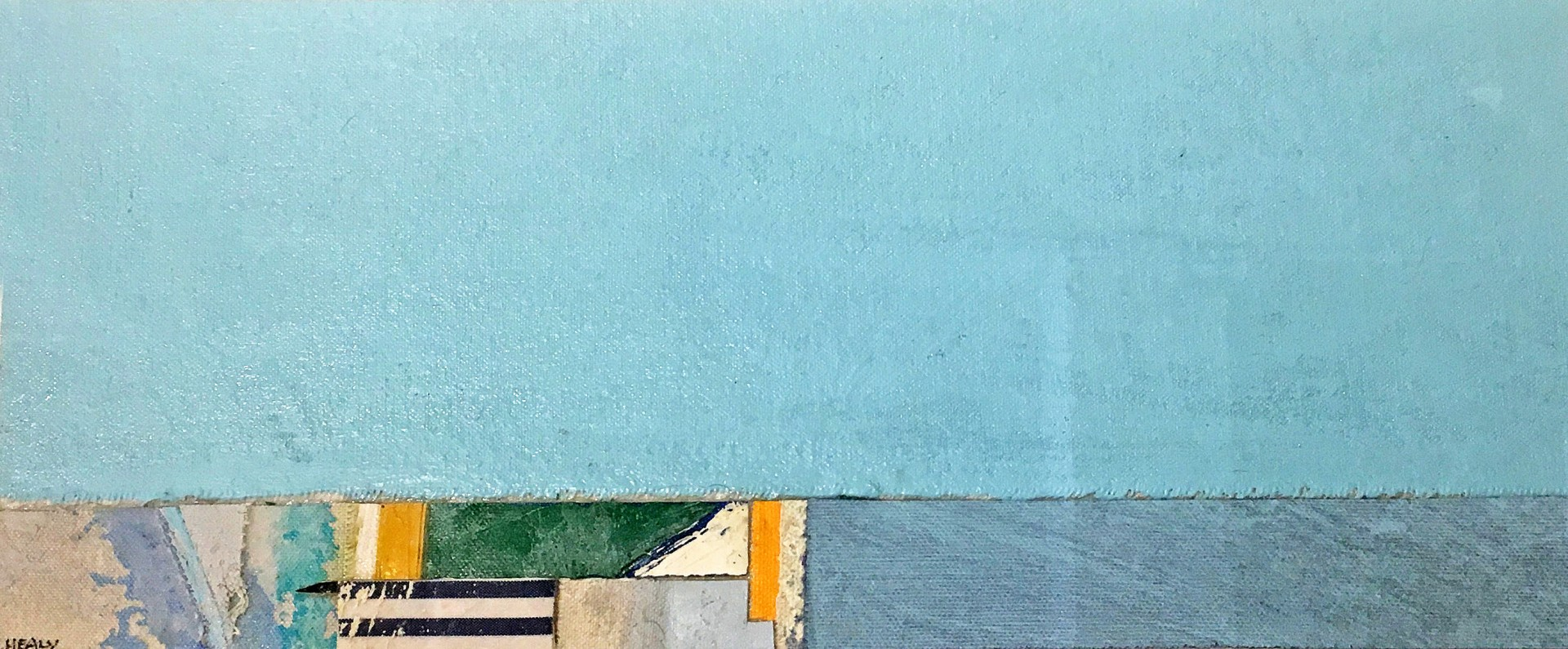 Madelyn Jordon Fine Art EUGENE HEALY: STEADY AS SHE GOES West Wharf