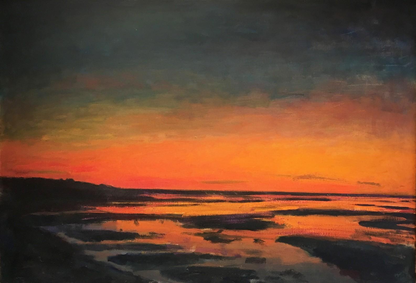 Madelyn Jordon Fine Art STAGING NATURE: A WORLD UNTO ITSELF Sunset Marsh