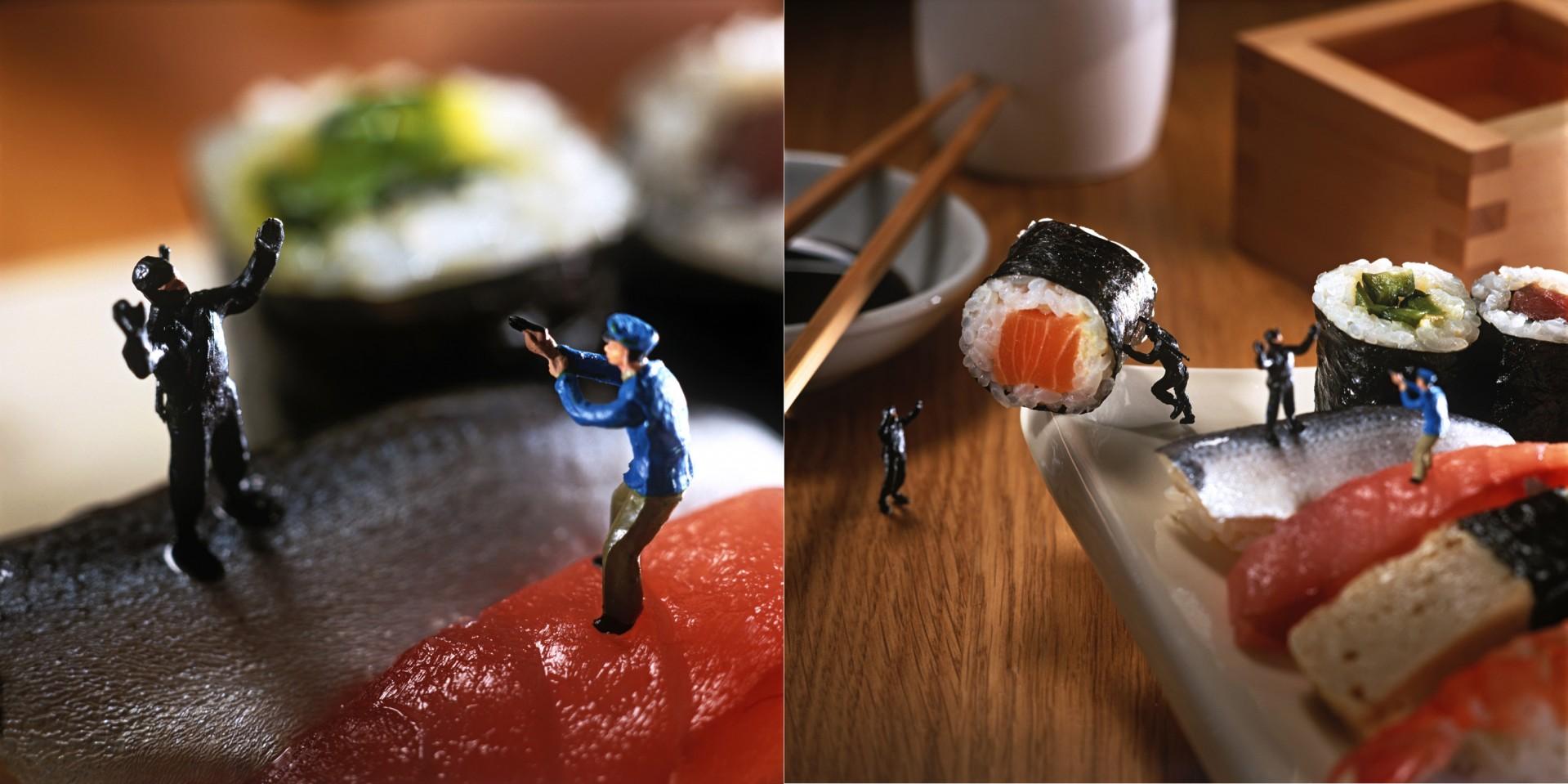 Madelyn Jordon Fine Art Minimiam: Akiko Ida and Pierre Javelle Ninja Maki
