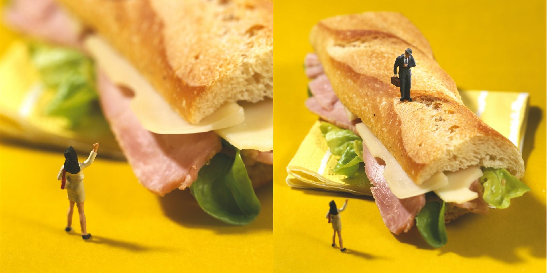 Madelyn Jordon Fine Art Minimiam: Akiko Ida and Pierre Javelle Sandwich Time
