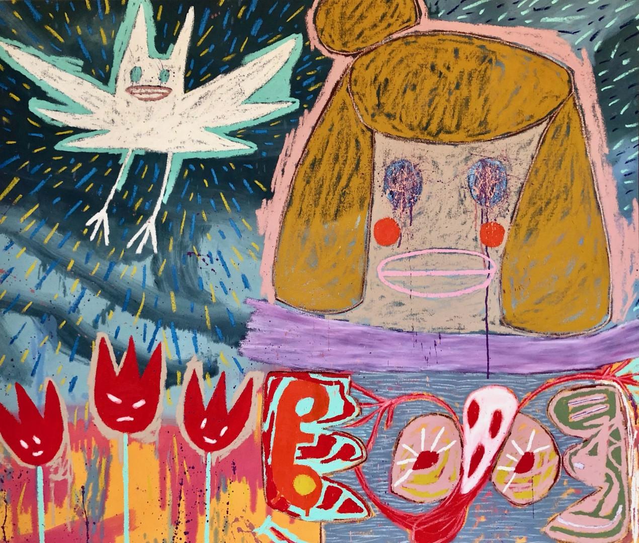 Madelyn Jordon Fine Art Adam Handler Midnight Girl with Uncertain Noises