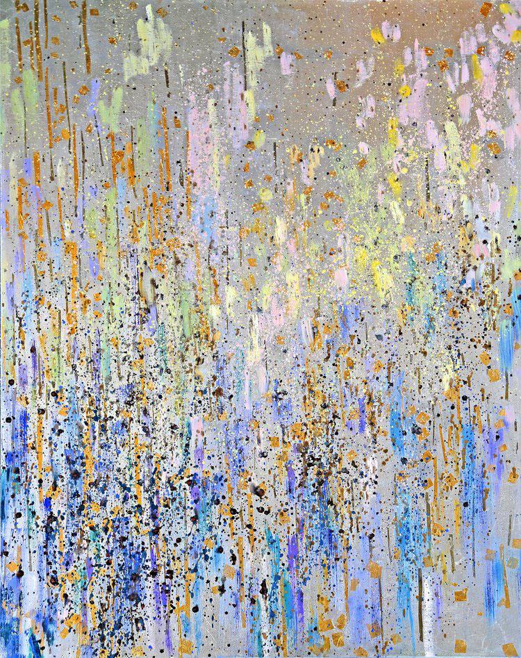 Madelyn Jordon Fine Art MICHELLE SAKHAI - THE ARCANA SERIES: INTERPRETATIONS OF TAROT The Moon XVIII