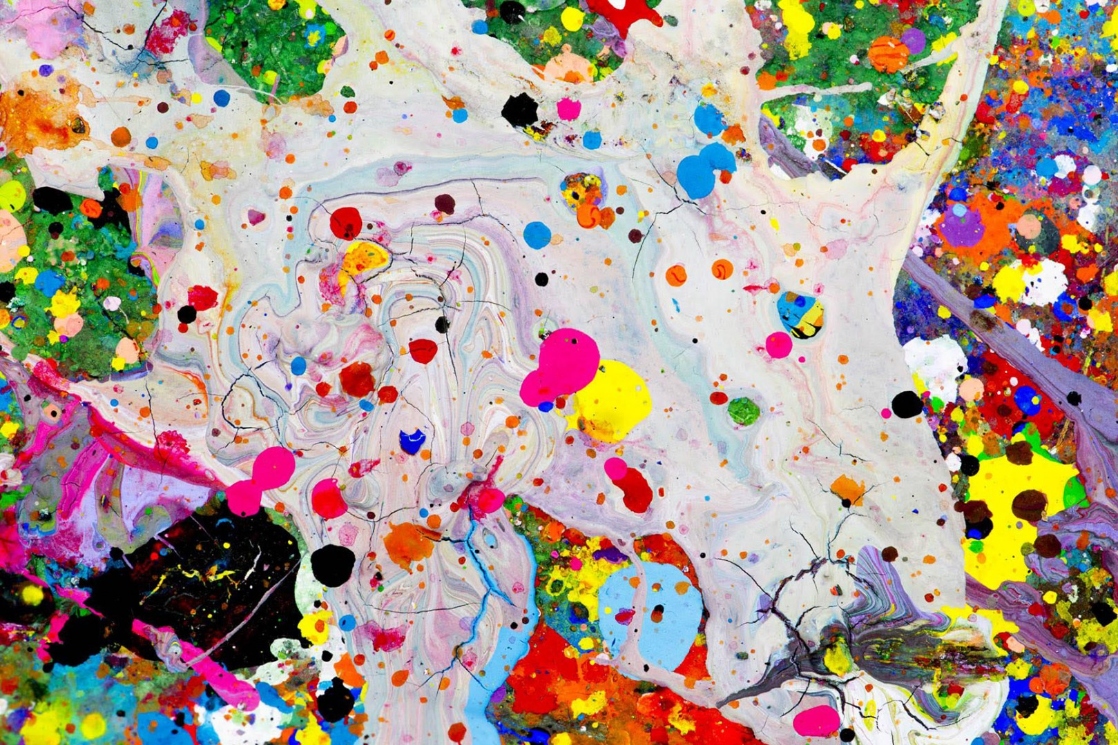 Madelyn Jordon Fine Art Steven  Hirsch Untitled (from the Splat series)
