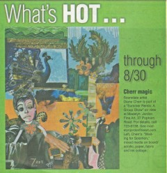 Madelyn Jordon Fine Art Diane Cherr in the Scarsdale Inquirer
