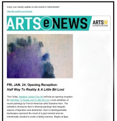 Madelyn Jordon Fine Art Sandrine Kern featured on Arts(e)News