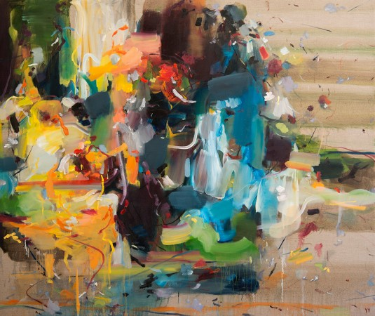 Madelyn Jordon Fine Art YANGYANG PAN :East Meets West in Contemporary Abstraction